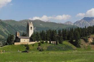 Kirche Celerina