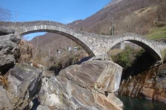 Brücke von unten