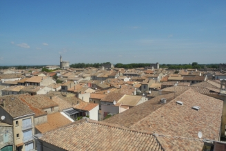 Aigues Mortes Dächer