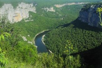 Ardèche Schlucht 2