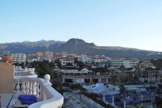 Blick v Balkon