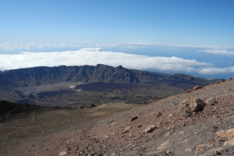 Aussicht v Teide