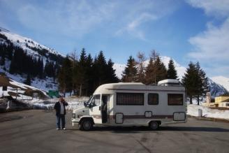Camper bei San Bernardino