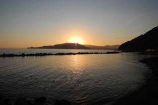 sunset Chiavari