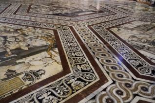 Mosaik Dom Siena