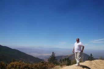 San Bernardino Aussicht