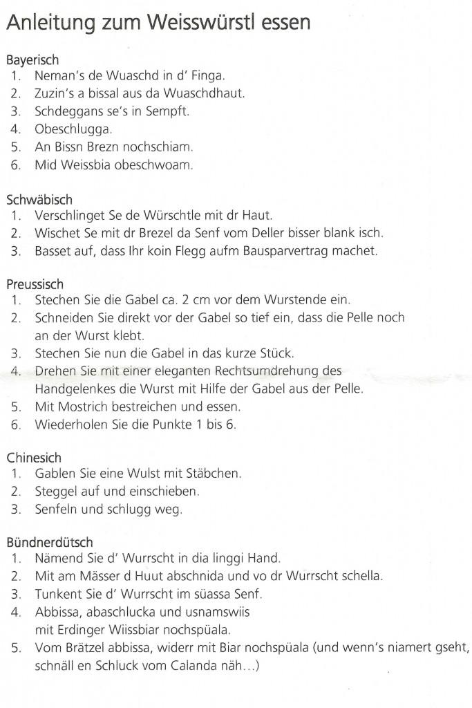 Weisswurst 001